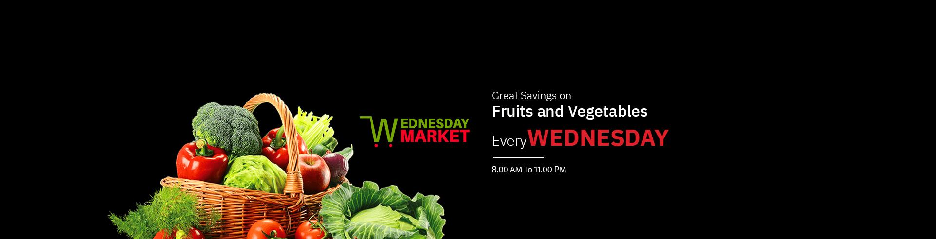 Wednesday Market Offer