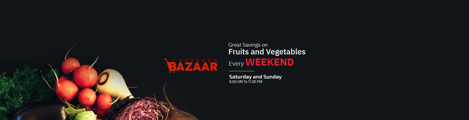 Weekend Bazaar